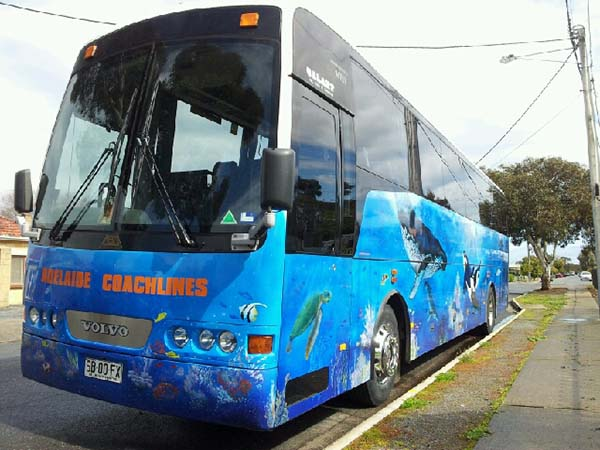 School Bus charters and tours in Adelaide