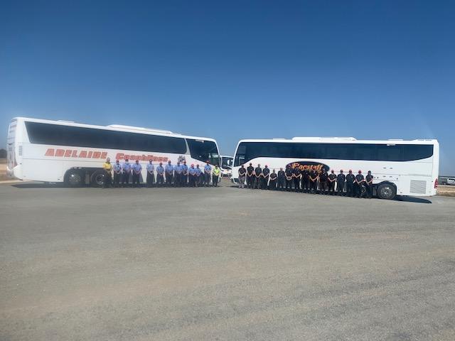 AJ2019 Scout Jamboree 2 bus companies uesed