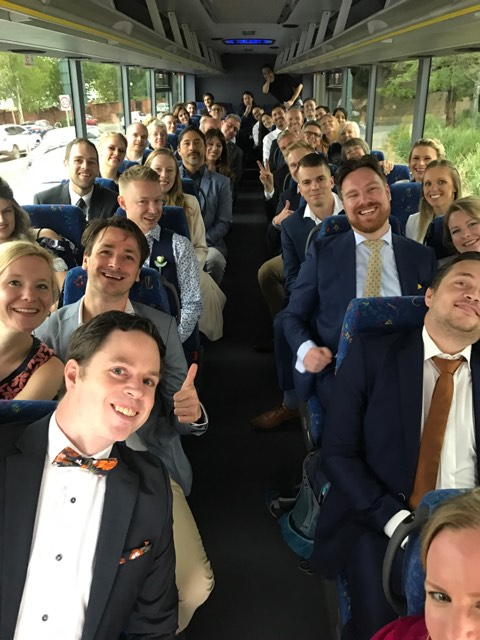 Wedding guest bus hire Adelaide